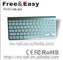 2013 NEW Arrival!Mini size 2.4Ghz wireless bluetooth laptop keyboard (KB-404)
