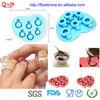 Colorful 6 Different Size Diamond Ring Silicone Ice Lattice Form Food Grade