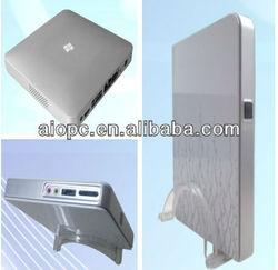 Fanless mini itx aluminum case for desktop