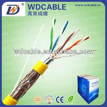 0.5mm CCA/CCAM UTP copper cat 5 networking cable