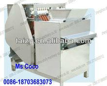 Broad bean cutting machine/bean opening machine/broad bean sliting machine 0086-18703683073