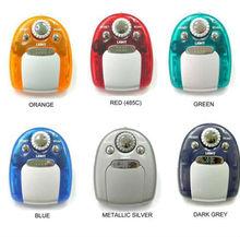colorful mini bean design walkman fm auto scan radio for student