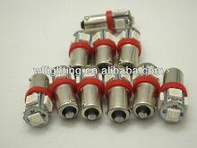 5LED White Car bulb 1156 BA9S SMD Tail / Parking / Turn signal / Stop / Backup / Brake Light