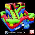 Multifonction combo gonflables parcours d'obstacles de jeux pour les enfants
