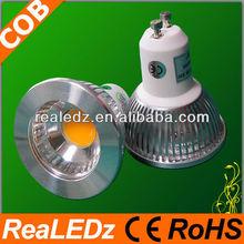 2012 new style AC/DC high quality 3w/5w gu10 cob led spot light with reflector
