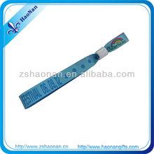 2012 enjoy yourself custom rainbow fabric bracelet