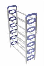 6 tiers aluminum shoe cabinet funiture, shoe rack