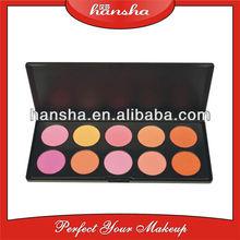 OEM accepted shimmering 10 color blush