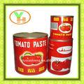 Pasta de tomate enlatada de 400 g, con grados Brix de 28-30%