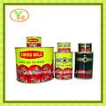 Yapıştırın 850g konserve domates, brix 28-30%ile