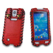 Derechos de autor para samsung Galaxy S4 I9500 derechos de autor SHOWKOO 2013 genuino Galaxy S4 SIV I9500 caso de cuero