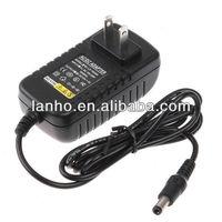 AC 100-240V To DC 12V 2A Power Supply Converter Adapter For Led Lights Strips