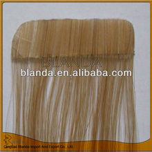 Hot style adhesive weave natural short hair bulk salons