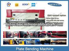 WC67K-125/3200 Hydraulic stainless steel CNC Press Brake