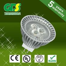 new design 430lm GU10 4w led smd cfl bulb cost