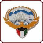 Metal custom design souvenir items sports car badges
