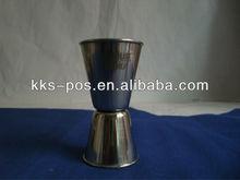Absolut Stainless Steel Dual Spirit Measure Jigger