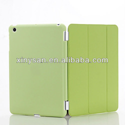 Smart Cover and Rubberized Perfectly Partner Case for Ipad Mini with Holder