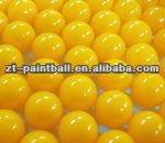 0.68 inch non-toxic, biodegradable, water-soluble paintball balls for sport, tournament, field game