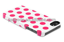 new arrival polka dot case for iphone5