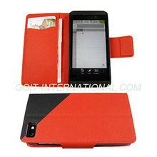 Mobile Phone Flip Case for Blackberry Z10 Flip Protector