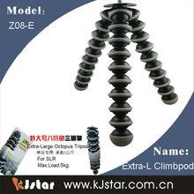 KJstar Extra-Large Climb Gorillapod SLR/DSLR camera flexible tripod(Z08-E)
