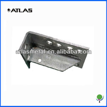 High quality welded steel parts used for anchor of roller coster