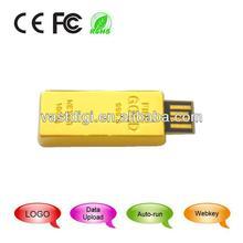mini gold usb flash disk
