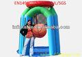 venta caliente inflable aro de baloncesto para adultos