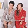 100% algodón ropa de noche elegante / albornoz