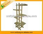 2013 new style wood garden rack,attractive wooden flower showcase,furniture