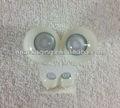 Polymère de haute qualité acrylique aveugle, yeux,- cône- la forme des yeux de poupée
