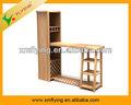 2013 el último diseño de moda de madera barra de bar con una estructura fuerte, muebles de oficina, muebles de la barra,