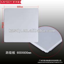 Durable ceiling design, hook on metal ceiling tile