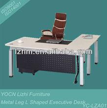 Metal Legs L Shaped Executive Desk YC-TZA01