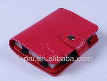 Fashion leather hard disk case