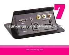 Pneumatic Pop Up Power Box with HDMI & VGA sockets