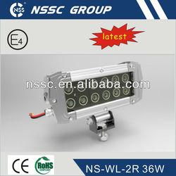 2013 NSSC 6'' 36w led bar light off road light kit