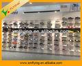Zapato de madera estante de exhibición comercial para tienda de zapatos, madera de escaparate de la exhibición, muebles