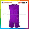 Personalizada camiseta de baloncesto de baloncesto de la sublimación uniformes deportivos
