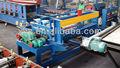 hoja de metal de la máquina de rodillos de metal de hoja de película de laminación y corte de la máquina
