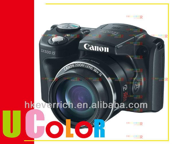 Canon PowerShot SX500 IS 16.0 MP HD 30x Zoom Digital Camera Black