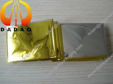 silver foil thermal blanket silver color gold color 210x140cm