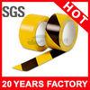 Yellow and Black PVC Warning Tape