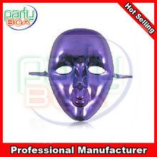 purple electroplated mask purple masquerade masks