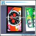 La exhibición de publicidad caja de luz signo/delgado perfil de aluminio de la cartelera