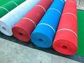 Venda quente!! Profissional, baratos, melhor qualidade 100% poliéster vermelho/azul/verde/cinza tapete da exposição na china