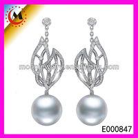 PEARL JEWELRY EARRINGS , E000847 AAA DROP EARRINGS