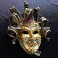 jester veneziano máscara para a festa da cara cheia