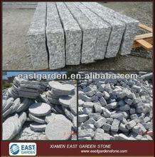 light grey granite G603 split,palisade,kerbstone